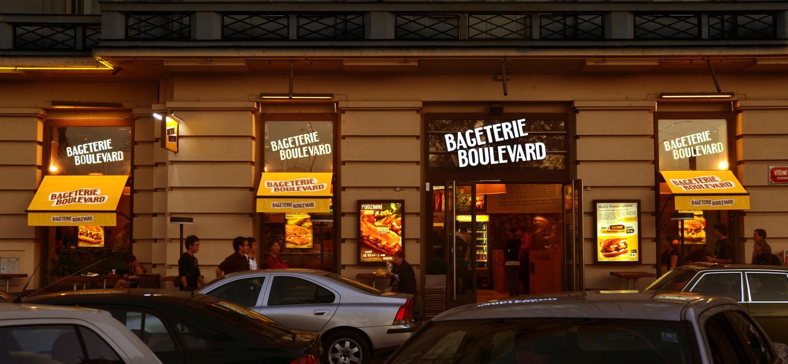 MORIS design: Bageterie Boulevard